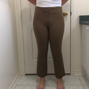 Theory camel coloured pants